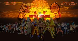 WWE Royal Rumble 2015 Anime Crossover Promo by gonzalossj3
