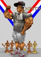 Mr. Olympia: Phil He4th by BigMuscleDesign