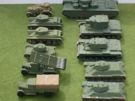 1/100 Scale Russians 3 by drshaggy