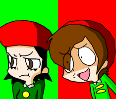 Ado and Adeleine: DIETO?! by Greasiggy