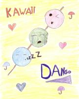 Kawaii Dango by jumpingnoodles