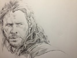Chris Hemsworth in Thor 2: The Dark World by PatrickRyant
