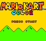 Mario Kart Color Title Screen by DarkWolf658