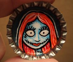 SALLY Bottle Cap Monster by Mr-Mordacious