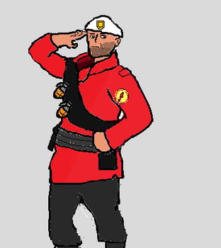 White Bill's Soldier by AceDefectiveNumber1