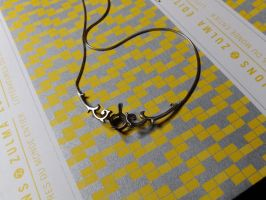necklace arabesques wip by Debals