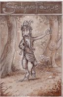Sculpus Faunus by P0UL