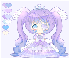 Adoptable- Gradient Princess [Closed] by PuffyPrincess