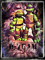 TMNT:: Donnie and Mikey: Best team by Culinary-Alchemist