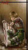 young fighter by asdj