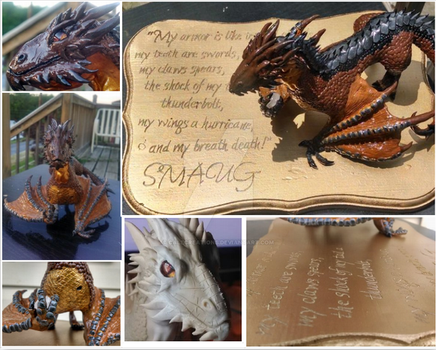 Smaug by CaleCreations
