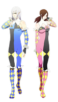 Mugen: Circus Uniforms by analmouse