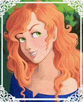 Princess Merida by MelissaDalton