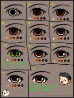 Simple Step by Step Eye Tutorial by EatMyPanda