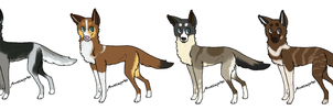 dog adopts [CLOSED] by FluffyKennels