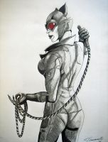 Arkham City Catwoman by cusT0M