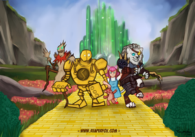 The League of Oz by reaperfox