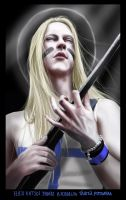 Petri Lindroos of Ensiferum by redtrackz