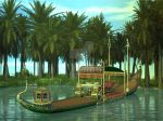 Egyptian Barge by Dillon5000