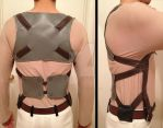 Attack on Titan Eren Belt Harness Progress 2 by FluxTideDesigns