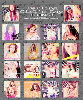 Darling Girl's Day Icons by Denimtrans