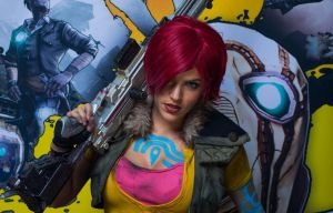 Borderlands 2 Press~event with the 2K team by LiliDin