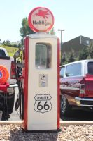 Old Gas Pump Stock by BeccaB-323-STOCK
