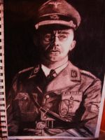 The Ghost of Heinrich Himmler by Akhenaten-Aten
