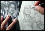 On my drawing board... by AdrianaMelo