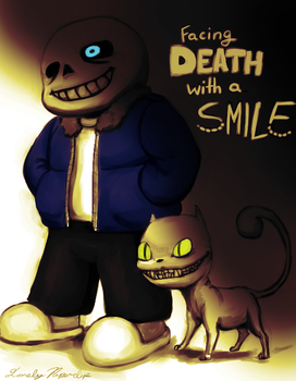 Smiling at Death by Lonely-Paperclip