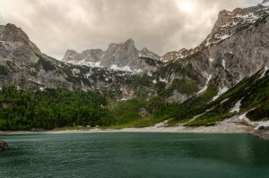 Stock 125 (Lake and Mountains) by Einheit00