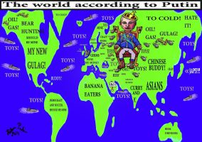 The world according to putin by basscania