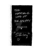 The horrible life of Mr.Snippy Smiely cover page by CelesOran