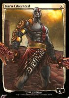 Kratos Liberated by BlackWingStudio