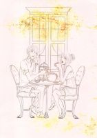 2012 Fall Fashion Collection: Afternoon Tea [WIP] by Aeveternal