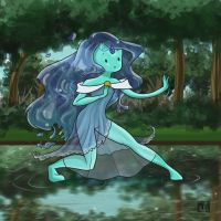 Water princess by Cloudyh