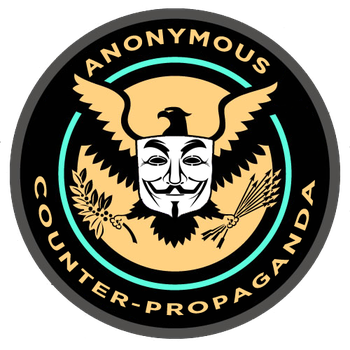 Anonymous Counter Propaganda Logo by OpPaperStorm