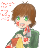 yandere hiccup by ameiliaketchum