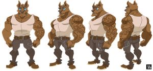 big bad wolf turnaround by Hodori