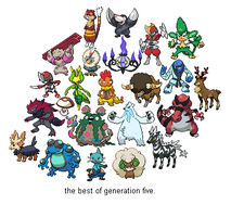 Pokemon: The Best of Gen. 5