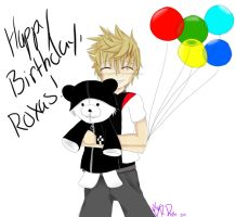 Happy Birthday Roxas by xXxVampireRagdollxXx