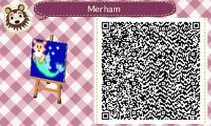 Animal Crossing Pattern - Merham by Freezair