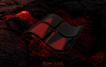 WINDOWS: DARK LAVA by CSuk-1T