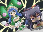 Yoshino vs Tohka by GreenTeaNeko