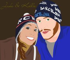 Jake and Kellie by Ashen7