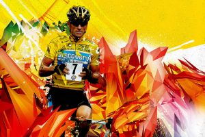 Lance Armstrong by russetman