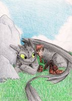 HTTYD - A Boy and His Dragon by Yahiko-chan
