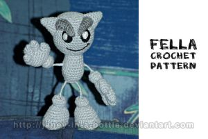 Fella Crochet Pattern by janey-in-a-bottle