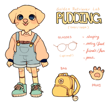 pudding ref by Luxjii