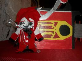 Grell Plushie! by Linked-Memories-21